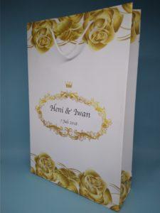 paper bag wedding