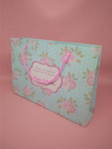 paper bag motif