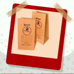 paper bag tanpa tali