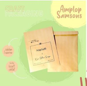 amplop packing
