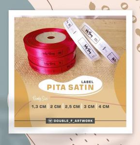 cetak label baju bekasi