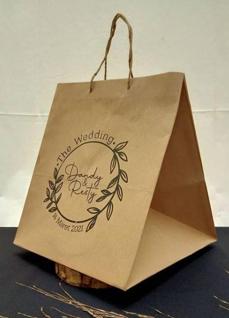 paper bag pernikahan